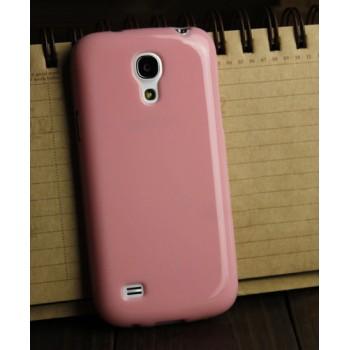 Силиконовый непрозрачный чехол для Samsung Galaxy S4 Mini Розовый