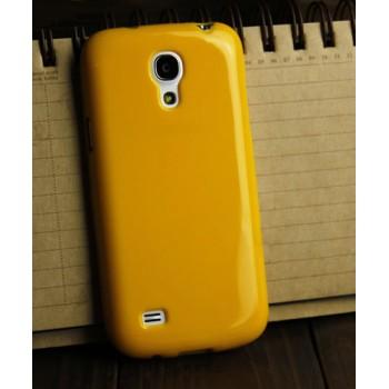 Силиконовый непрозрачный чехол для Samsung Galaxy S4 Mini Желтый