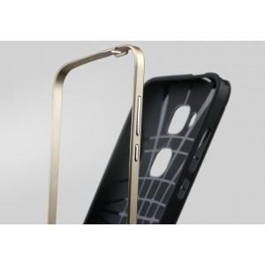 Двухкомпонентный чехол с силиконовой накладкой и поликарбонатным бампером для Huawei G8