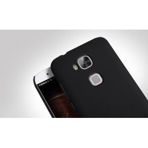 Пластиковый матовый нескользящий премиум чехол для Huawei G8