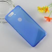 Силиконовый S чехол для Google Huawei Nexus 6P Синий