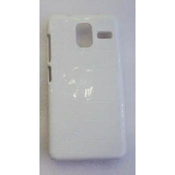 Пластиковый матовый текстурный чехол дизайн Природа для Lenovo S580 Ideaphone