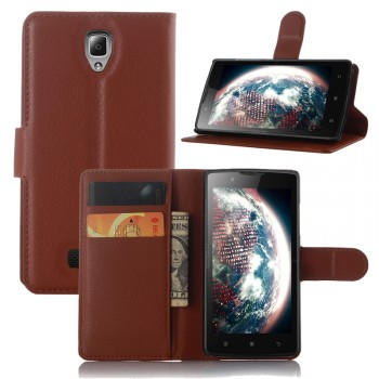 Чехол портмоне подставка с защелкой для Lenovo A2010