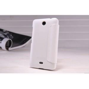 Чехол флип на пластиковой матовой нескользящей основе для Microsoft Lumia 430 Dual SIM