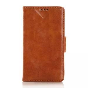 Глянцевый чехол портмоне подставка с защелкой для Nokia Lumia 530