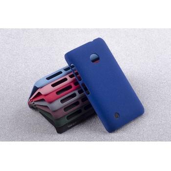 Пластиковый матовый чехол с повышенной шероховатостью для Nokia Lumia 530