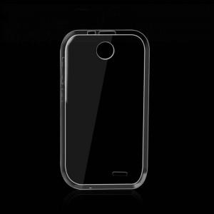 Силиконовый транспарентный чехол для HTC Desire 310