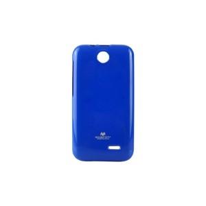 Силиконовый глянцевый непрозрачный чехол для HTC Desire 310