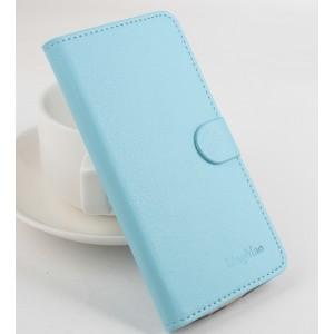Чехол портмоне подставка на клеевой основе с магнитной застежкой для Doogee X5