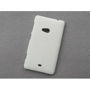 Пластиковый матовый непрозрачный чехол для Nokia Lumia 625