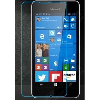 Ультратонкое износоустойчивое сколостойкое олеофобное защитное стекло-пленка для Microsoft Lumia 550