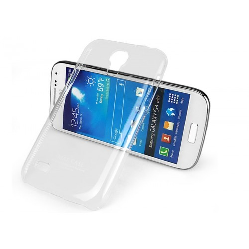 Пластиковый транспарентный чехол для Samsung Galaxy S4 Mini