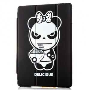 Принтованный чехол флип подставка сегментарный серия Panda для Ipad Mini 4