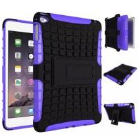 Антиударный гибридный чехол экстрим защита силикон/поликарбонат для Ipad Mini 4 Фиолетовый