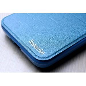 Текстурный чехол флип подставка с круглым окном вызова на силиконовой основе для ASUS Zenfone Go