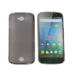 Силиконовый матовый полупрозрачный чехол для Acer Liquid Z530