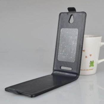 Клеевой чехол вертикальная книжка с магнитной застежкой для Highscreen Boost 2