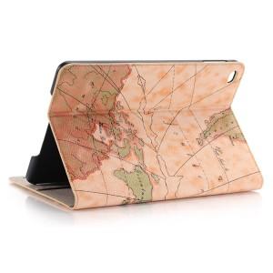 Текстурный чехол подставка с внутренними отсеками серия Treasure Map для Ipad Mini 4
