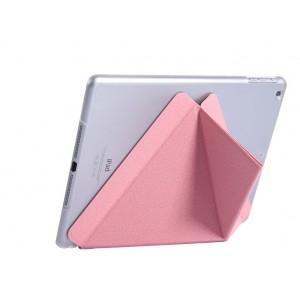Полиуретановый чехол подставка серия Оригами на транспарентной поликарбонатной основе для Ipad Mini 4