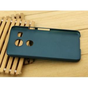 Пластиковый матовый чехол Металлик для Google LG Nexus 5X Зеленый