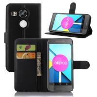 Чехол портмоне подставка с защелкой для Google LG Nexus 5X