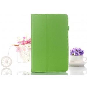 Чехол подставка с рамочной защитой для Acer Iconia W4 Зеленый