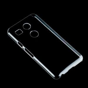 Пластиковый транспарентный чехол для Google LG Nexus 5X