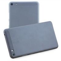 Пластиковый матовый ультратонкий чехол для Lenovo Phab Plus Серый