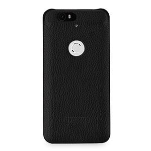 Кожаный чехол накладка (нат. кожа) для Google Huawei Nexus 6P