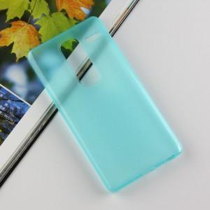 Силиконовый матовый чехол для LG Class Голубой