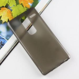 Силиконовый матовый чехол для LG Class Серый