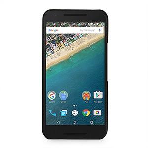 Кожаный чехол накладка (нат. кожа) для Google LG Nexus 5X Черный
