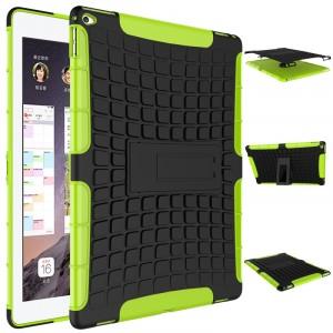 Силиконовый чехол экстрим защита для Ipad Pro Зеленый