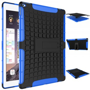 Силиконовый чехол экстрим защита для Ipad Pro Синий