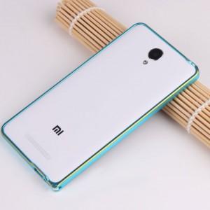 Металлический бампер с золотой окантовкой для Xiaomi RedMi Note 2