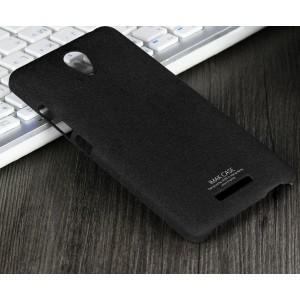 Пластиковый матовый чехол с повышенной шероховатостью для Xiaomi RedMi Note 2