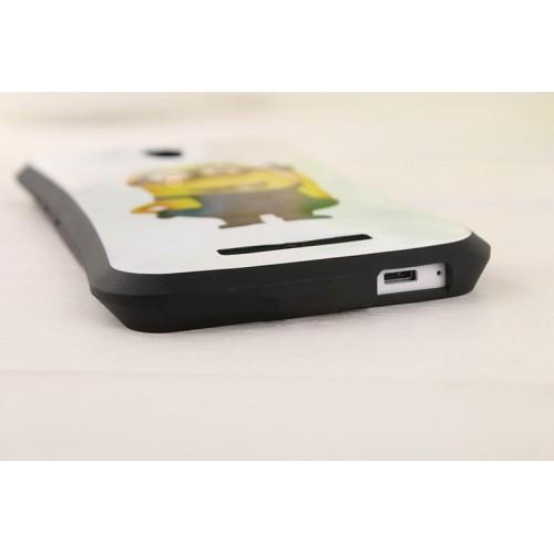 Силиконовый дизайнерский эргономичный чехол с принтом для Xiaomi RedMi Note 2