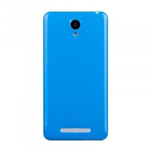 Силиконовый непрозрачный чехол для Xiaomi RedMi Note 2 Синий