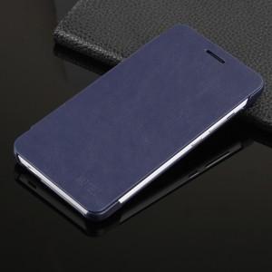 Чехол флип на пластиковой основе для Xiaomi RedMi Note 2 Синий