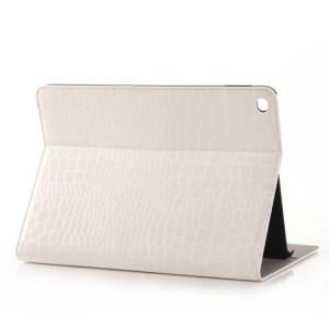 Чехол подставка серия Croco Pattern для Ipad Pro Белый