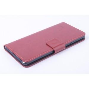 Глянцевый чехол портмоне подставка на клеевой основе с магнитной застежкой для BQ Aquaris E5