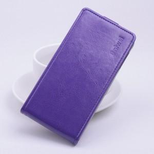 Чехол вертикальная книжка на клеевой основе с магнитной застежкой для BQ Aquaris E5