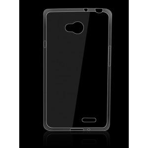 Силиконовый транспарентный чехол для LG L70