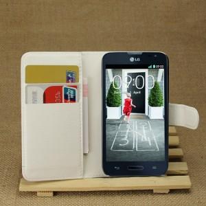 Чехол портмоне подставка с защелкой для LG L70