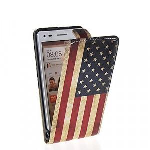 Чехол вертикальная книжка на пластиковой основе с магнитной застежкой и полноповерхностным принтом для LG L70