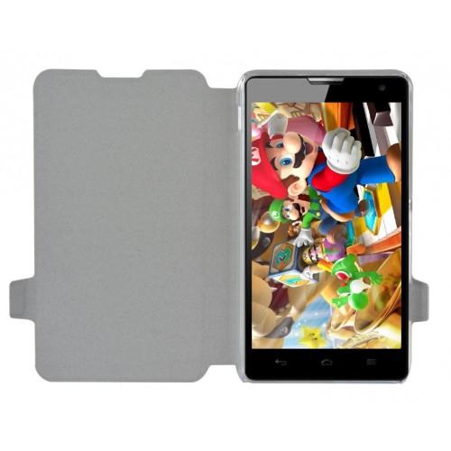 Дизайнерский чехол флип подставка с полноповерхностным принтом и защёлкой для Sony Xperia E4