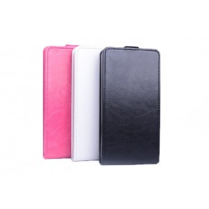 Чехол вертикальная книжка на пластиковой основе с магнитной застежкой для Sony Xperia E4