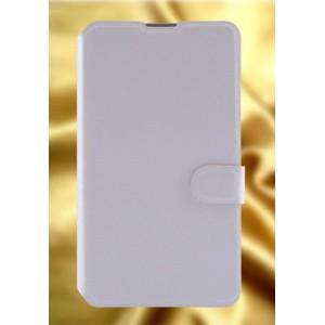 Текстурный чехол флип подставка на пластиковой основе с магнитной застежкой и отделением для карт для Sony Xperia E4