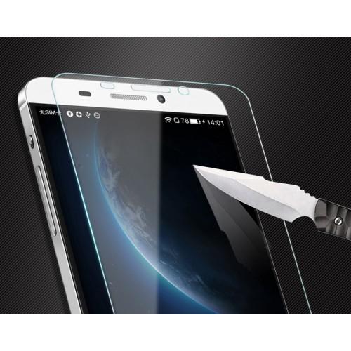 Ультратонкое износоустойчивое сколостойкое олеофобное защитное стекло-пленка для ZTE Blade X3