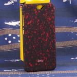 Пластиковый матовый дизайнерский чехол с голографическим принтом Звезды для HTC One A9
